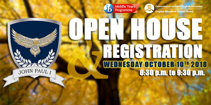 Open House and Registration